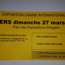 carte d'exposant